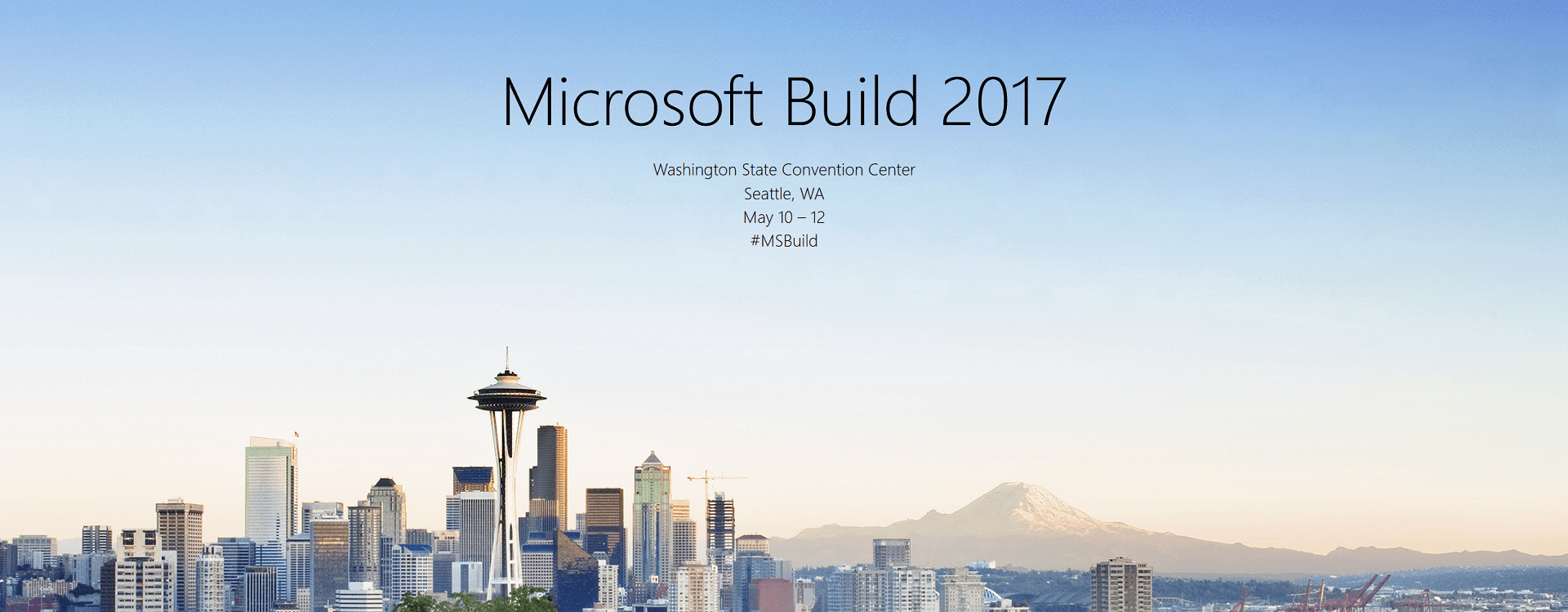My Perspective of the Build 2017 Conference